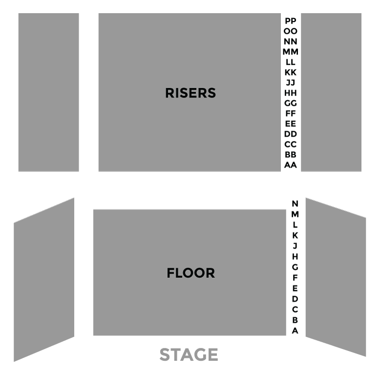 Kaul Auditorium Seating Chart